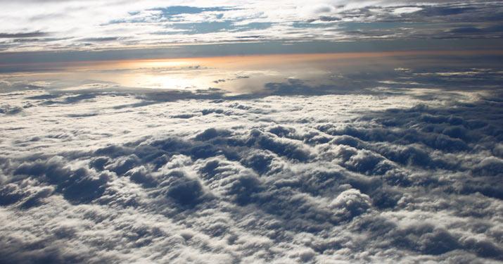nueva zelanda desde el aire. Nueva Zelanda, la Isla Sur