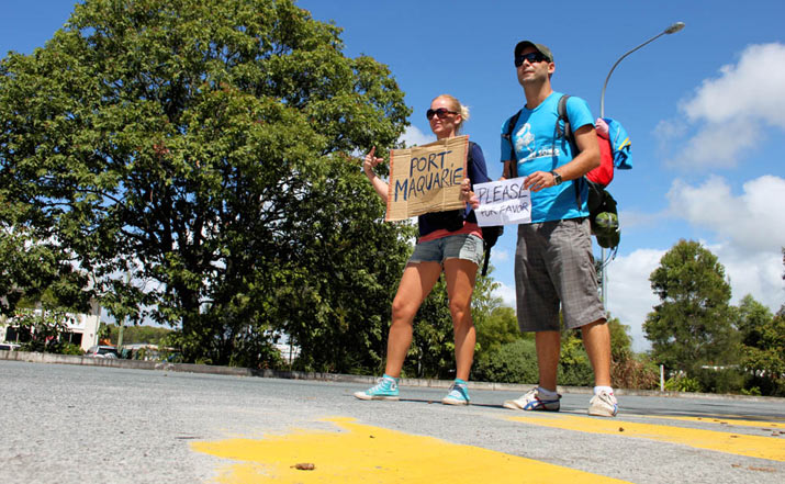 Australia en Autostop y Couchsurfing