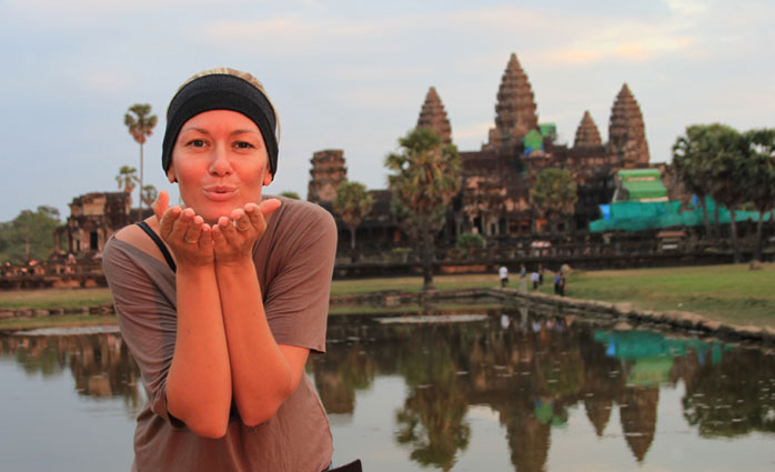 Gosia de molaviajar en camboya