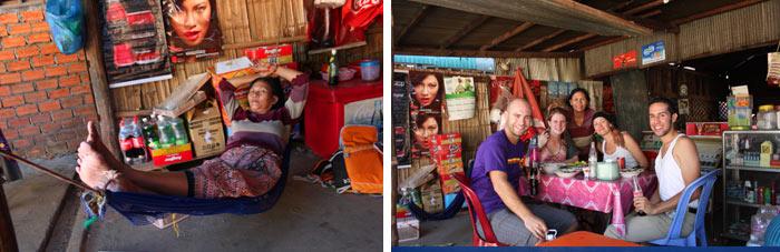 Battambang Camboya Señora