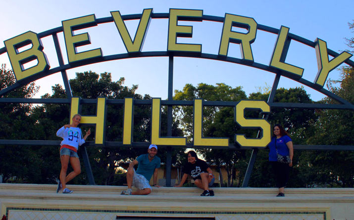beverly hills Los Angeles y Universal Studio Hollywood