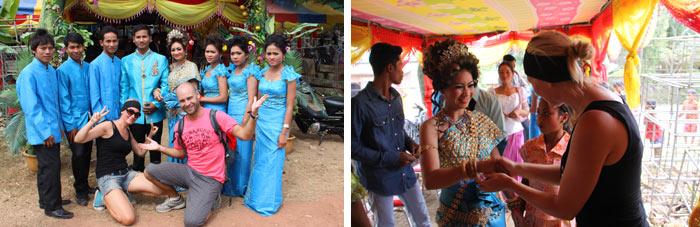 Boda camboyana 5. Battambang Camboya
