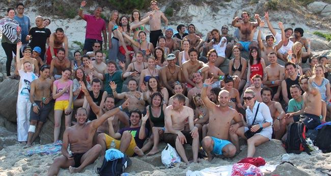 Couchsurfing meeting Islas Cies