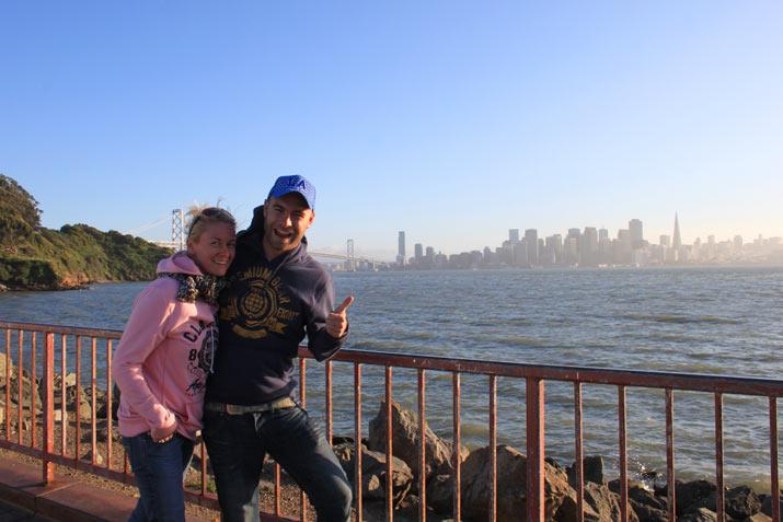 Adri y Gosi en SF