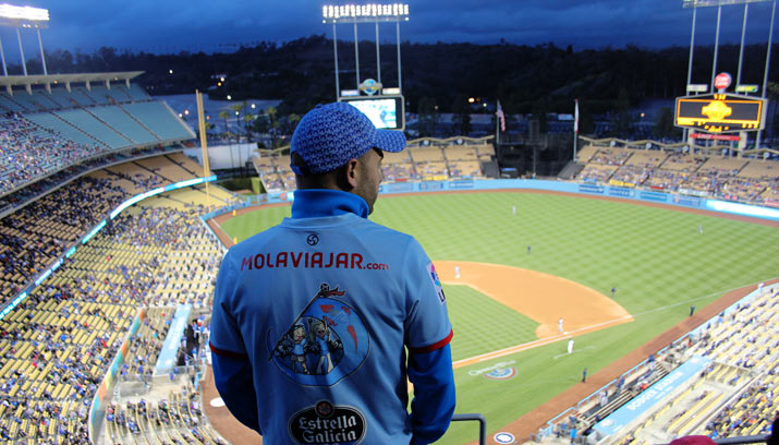 dodger partido molaviajar Los Angeles y Universal Studio Hollywood