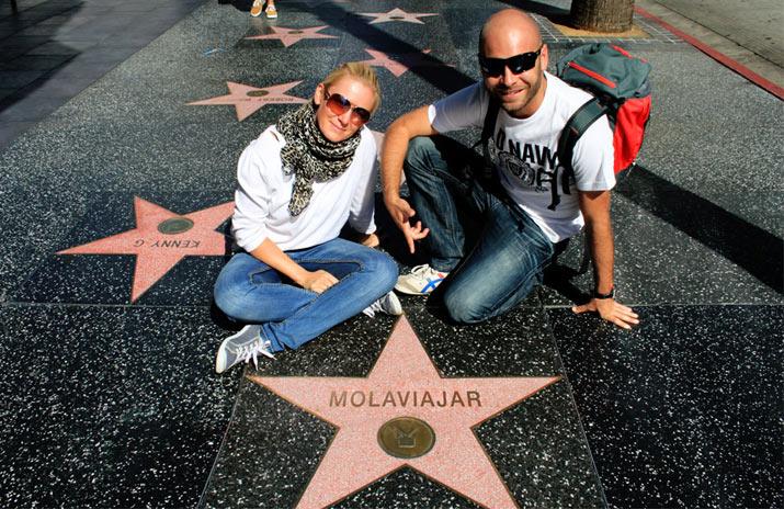 adri y gosi estrellas hollywood molaviajar