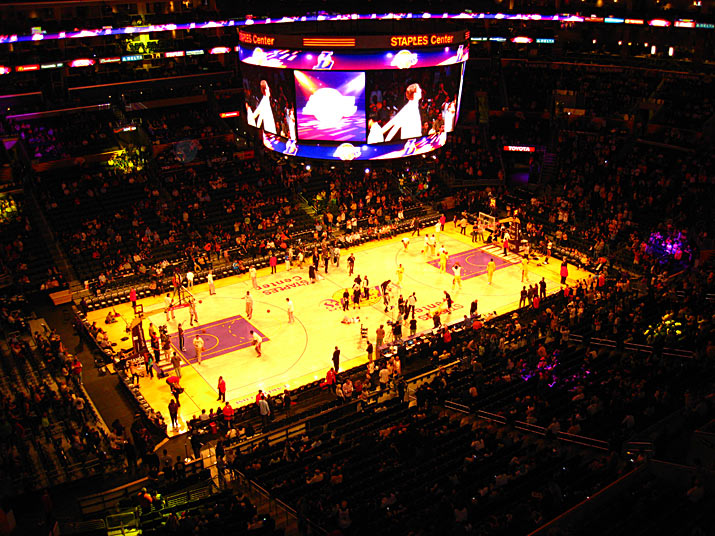 lakers stadium Los Angeles y Universal Studio Hollywood