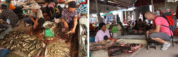 Mercado 2 Battambang Camboya