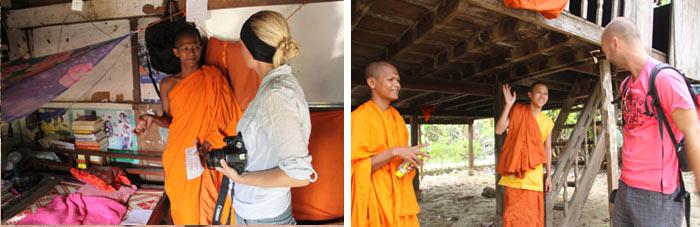 Monjes budistas 2. Battambang Camboya