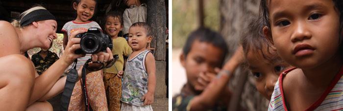 Niños 2 Battambang Camboya
