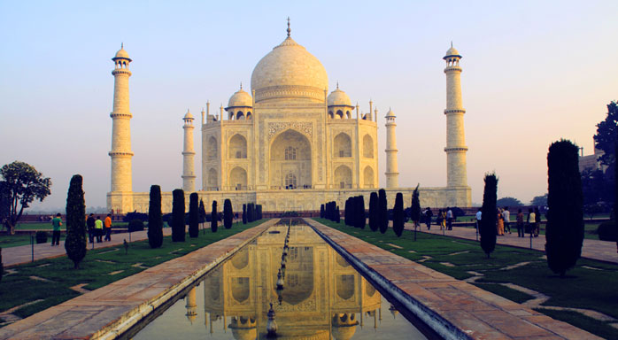 la maravilla del mundo en la india