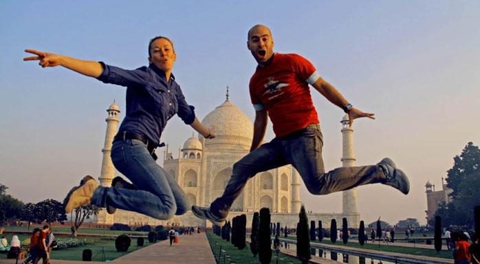 jump jump jump en la india adri y gosi