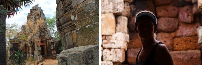 Templo Battambang Camboya