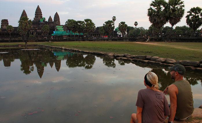Adri y gosi romantico camboya