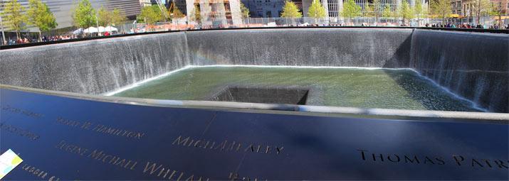Que ver en Nueva York monumento torres gemelas