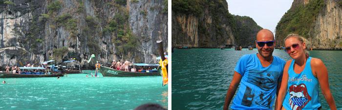 phiphi island adri y gosi