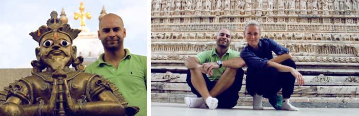 adri y gosi de molaviajar en india