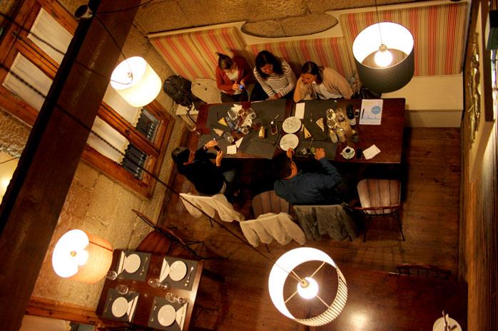 Bonito Al Baño Maria:Por la noche fuimos al restaurante precioso llamado Baño María www