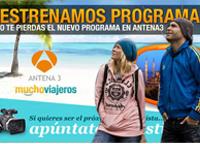 Adri y Gosi en Muchoviajeros Antena3