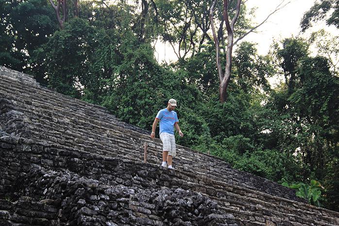 piramida maya palenque