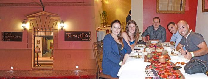 cena bloguera en mexico chiapas