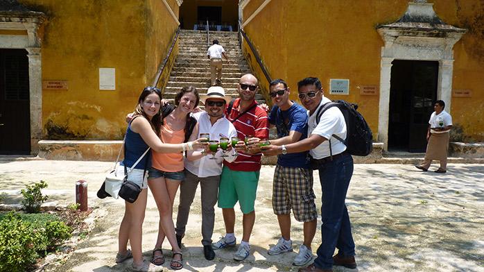blogueros en Hacienda Uayamon
