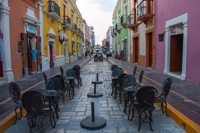 centro historico de campeche mexico molaviajar
