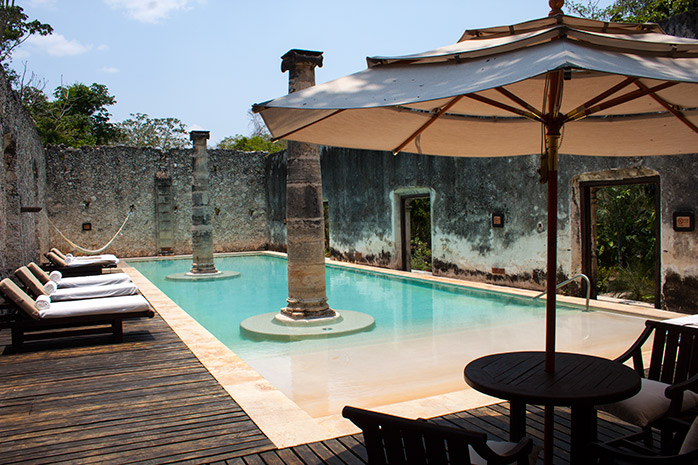 piscina hacianda mexico uayamo