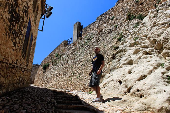 molaviajar en el castillo sanra creu