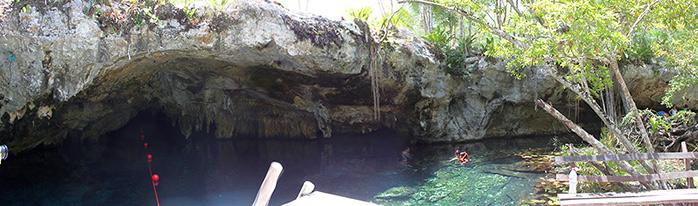 panoramica cenote mexico tulum