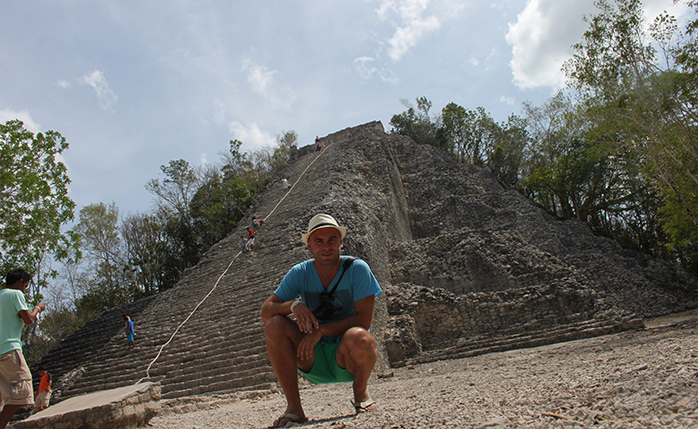 pirámide Nohoch Mul  molaviajar