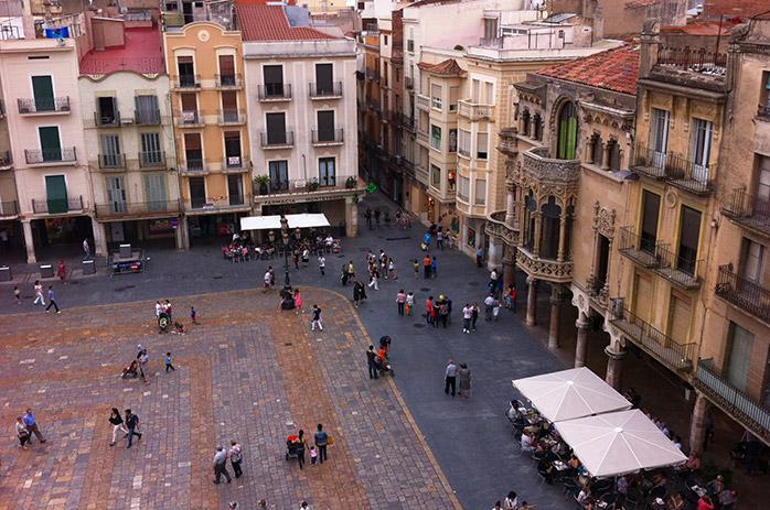 mercadal reus plaza