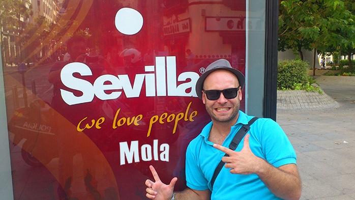 Sevilla mola mucho adri molaviajar