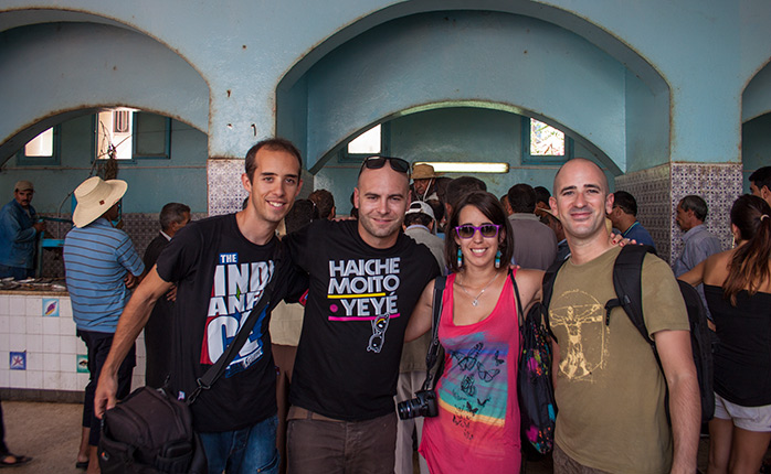 equipo minube en tunez