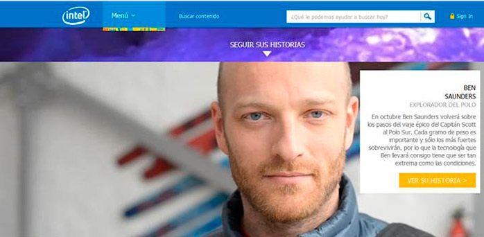 Ben Saunders al Polo Sur