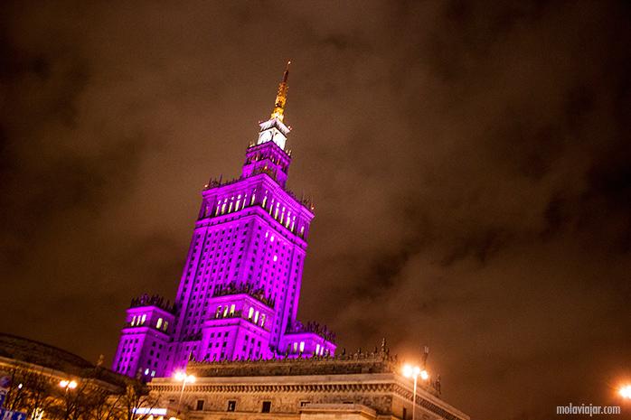 palacio de la cultura. Qué ver en Varsovia en un día