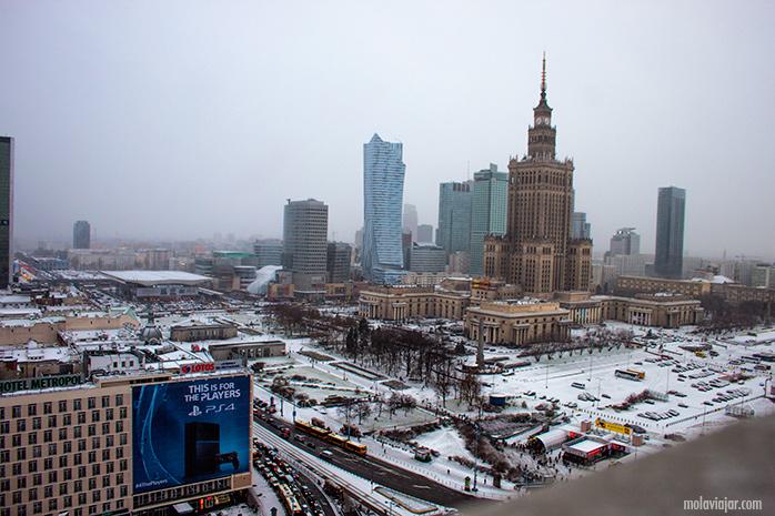 varsovia-nevado. Qué ver en Varsovia en un día