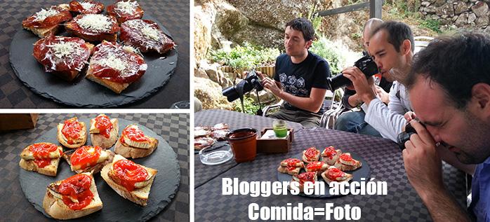 comiendo en galicia