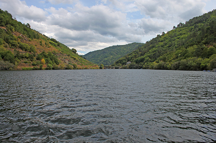 ruta fluvial rio sil