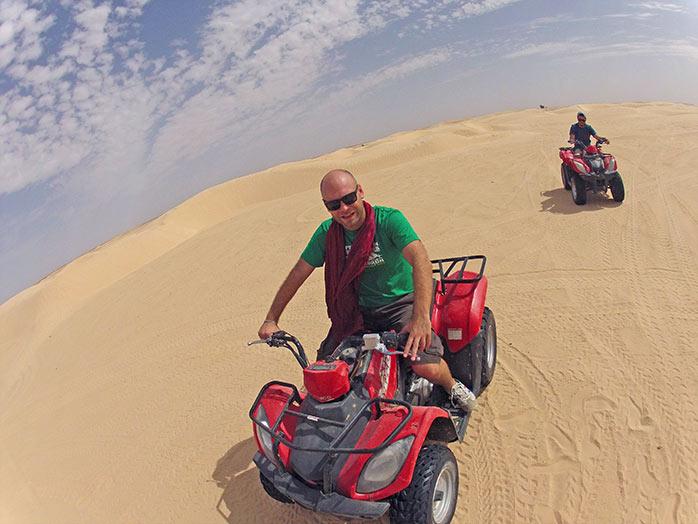 Actividades en el desierto de Tunez