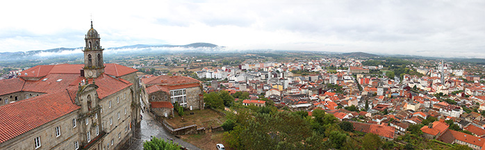 panoramica monforte de lemos