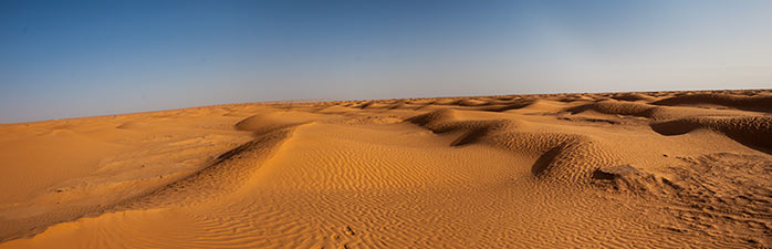 panoramica desierto tunez