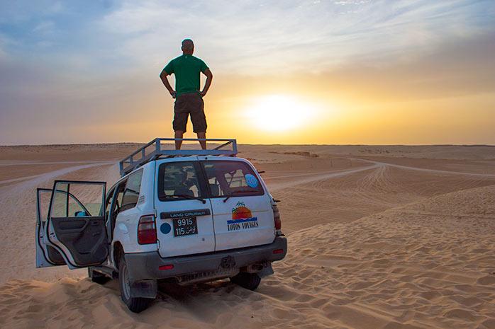 cruzar el desierto de tunez