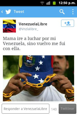 tweet venezuela