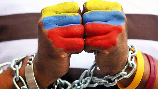 Adri y gosi con venezuela