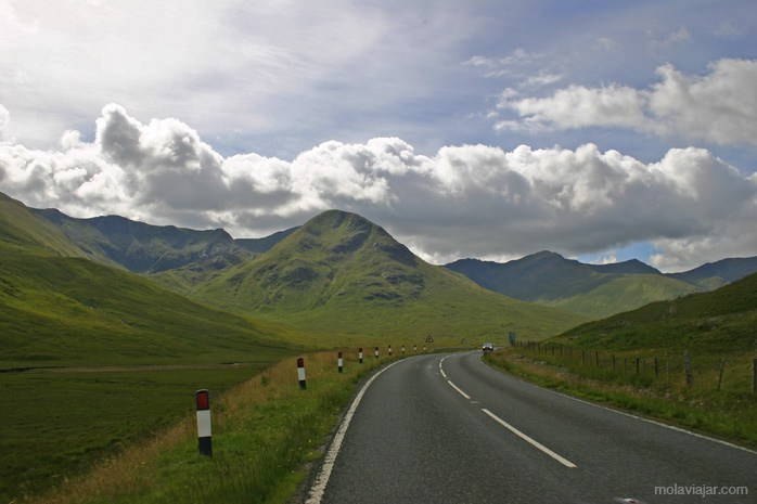 Ruta en coche por las Highlands
