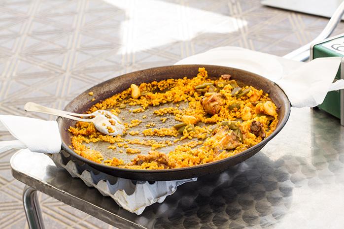 comida tiica de valencia paella