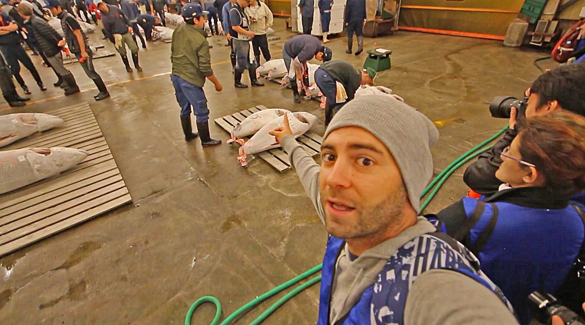 mercado tokio pescado