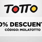 Código promoción Totto España