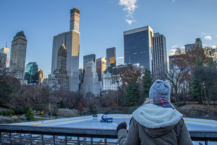 patinar sobre hielo en nueva york